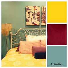 Triadic Color Scheme Room color and meaning:) | psychology