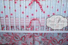 Custom Baby Crib Bedding Design Your Own by MissPollysPieceGoods, $260.00