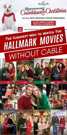 The Cheapest Way to Watch the Hallmark Channel without Cable! I have researched all of the ways you can watch the Hallmark Channel at home and save the most money! Bake the Christmas Cookies and start watching today! Home And Family Crafts, Home And Family Hallmark, All Family, Family Movies, Christmas Movies List, Hallmark Movies, Hallmark Channel, Hallmark Weihnachtsfilme, Movies