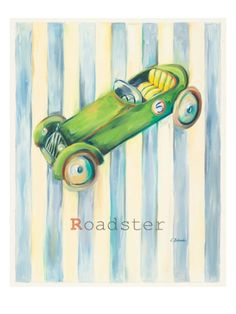 Roadster Giclee Print by Catherine Richards at Art.com