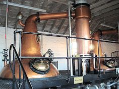 Whisky Stills at Daftmill