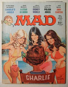 Magazine photos featuring Farrah Fawcett on the cover. Farrah Fawcett magazine cover photos, back issues and newstand editions. Comic Book Covers, Comic Books, Tv Covers, Sergio Aragonés, American Humor, Nostalgia, Mad Magazine, Magazine Covers, Magazine Rack