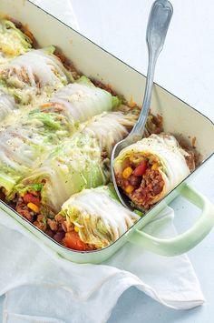Mince Recipes, Low Carb Recipes, Healthy Recipes, Burritos, Good Food, Yummy Food, Mexican Food Recipes, Ethnic Recipes, Happy Foods