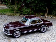1969 Mercedes-Benz 280SL - The perfect balance of masculine and feminine in car design - very European...K