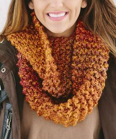 Another great find on #zulily! Wildfire Ombré Infinity Scarf by Bglorified Boutique #zulilyfinds