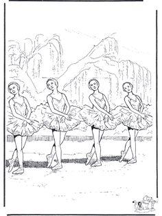 ballet coloring pages nukleurennl allerlei kleurplaten kleurplaat ballet ballet 2