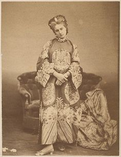 La Comtesse in Chinese Robe, 1860s