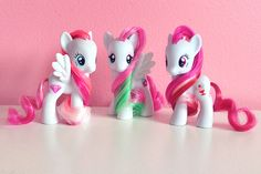 G4 Diamond Rose, Blossomforth, and Plumsweet.
