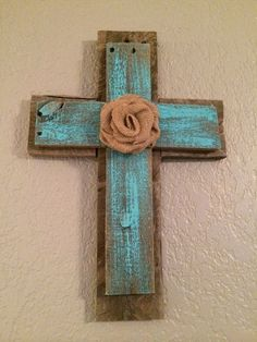 Reclaimed Wood Cross by BellaBuildingCo on Etsy