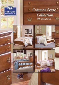 Common Sense Collection   Cherry   Carolina Furniture Works