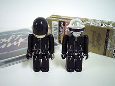 I sooo want these limited edition Daft Punk Kubricks; from the Japanese edition of the Human After All Remixes.