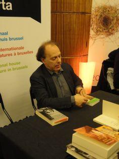 Javier Marias, Flagey, Brussel 2013
