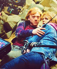 One of my favorite scenes, no matter how short. ROMIONE <3