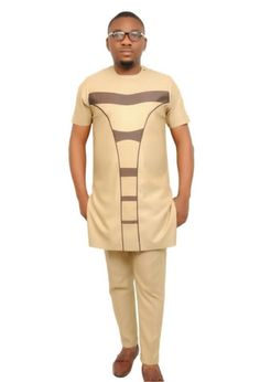 Galerie photo African Dresses Men, African Attire For Men, African Clothing For Men, African Shirts, Latest African Fashion Dresses, African Men Fashion, African Wear, Nigerian Men Fashion, Designer Suits For Men