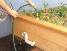 Would you like a garden bed that needs less water and maintenance than a conventional garden bed? Try a wicking bed where water moves upwards from a reservoir at the bottom through to the top, watering the roots of the plants from below.