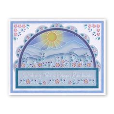 Tina's Floral Doodle Wreath A5 Square Groovi Plate (Set GRO-FL-40845-X – Claritystamp