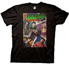 This T-Shirt features your favorite Big Bang Theory characters which you will love! catch phrase, in a design inspired by comic books. -Screen printed design. -Machine washable. -Adult men's sizes,standard. | eBay!
