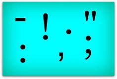 Image result for punctuation