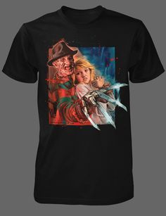 """""""The Dream Master"""". By Graham Humphreys for Fright-Rags."""