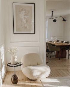 Home Living Room, Living Room Decor, Bedroom Decor, Dining Room, Interior Design Inspiration, Home Decor Inspiration, Decor Ideas, Dream Home Design, House Design