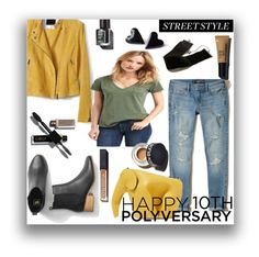 """""""Celebrate Our 10th Polyversary! Style"""" by kioriknight ❤ liked on Polyvore featuring Banana Republic, Gap, Hollister Co., Loewe, Sonia Kashuk, polyversary and contestentry"""