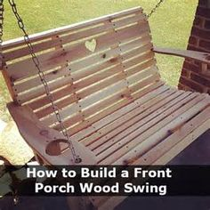 How To Make A Wooden Porch Swing - The Best Image Search
