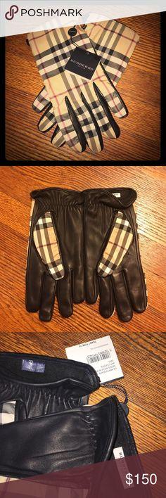 Brand New Men's Burberry Gloves Brand New Men's Burberry Gloves. Tags attached. Size 9.5 Burberry Accessories Gloves