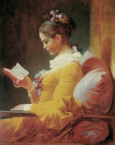 Young Girl Reading  Cross stitch pattern pdf format by diana70