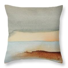 Blue Lagoon Throw Pillow for Sale by Vesna Antic