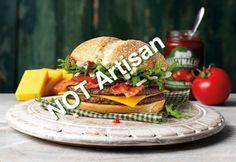 McDonald's launches new Irish burger: the McMór Irish News, Cabbage And Bacon, Mcdonalds, Cheddar, Hamburger, Ireland, Toast, Artisan, Rolls