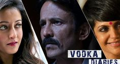 Vodka Diaries is an Indian Bollywood thriller film set in present day Manali. The film story revolves around a membership known as Vodka Diaries, in which few murders have took place and ACP Ashwini Dixit (Kay Kay Menon) is investigating them.