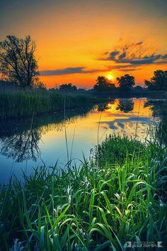 Beautiful Nature Pictures, Beautiful Sunset, Beautiful Landscapes, Beautiful Places, Scenic Photography, Nature Photography, Image Nature, Fantasy Landscape, Nature Wallpaper