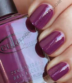 Color Club Gossip Column - Rebel Debutante Swatches and Review