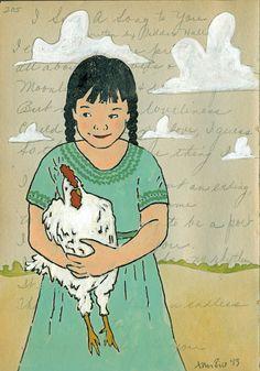Art for sale to benefit Chicken Run Rescue: http://www.brittonclouse.com/chickenrunrescue/