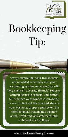 Online Bookkeeping, Small Business Bookkeeping, Bookkeeping And Accounting, Small Business Accounting, Bookkeeping Services, Accounting And Finance, Business Education, Accounting Basics, Accounting Notes