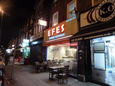 Efes Leytonstone High Road. Photo Martin Sepion High Road, Broadway Shows, Restaurant, The Originals, Diner Restaurant, Restaurants, Dining