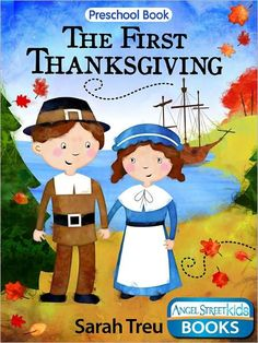 First Thanksgiving Coloring Book Thanksgiving Books, November Thanksgiving, Thanksgiving Crafts For Kids, Thanksgiving Traditions, Holiday Traditions, Kids Crafts, Preschool Age, Preschool Books, Book Activities