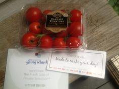 My fave tomatoes! #PrivateSelectionFresh #FreeSamp #MyMagazineSharing