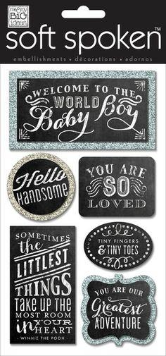 Baby Boy Chalkboard