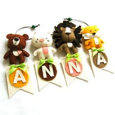 Custom name banner Personalized name banner Nursery by ZazoMini