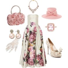 """""""KENTUCKY DERBY"""" by formaldesigns on Polyvore"""