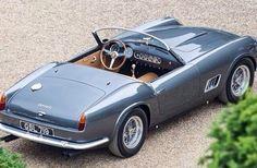 Ferrari 250 GT California. ferrari grey GSL 719 250GT with tan interior