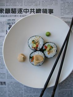 How to make delicious vegetarian sushi + tips