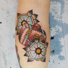 American Traditional Tattoo 108