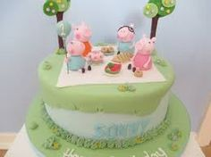 Image result for peppa pig cake