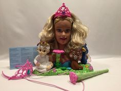 Barbie Island Princess Sing Along Styling Head Mattel 2007 #L2940 Karaoke