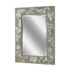 Silver Bloom Wall Mirror (1151)