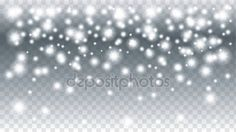 Falling snow transparent Christmas Holiday background. Falling Snowflakes. Falling sparkles. Light effect. Invitation, greeting cards winter background. Winter sale. Night club advertising. — Stock Vector © sofiartmedia.gmail.com #129772008