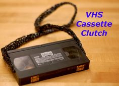 transform a #VHS into a clutch