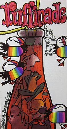 Puffins on Parade 1971 Jill Mcdonald, Children's Book Illustration, Illustrations, Vintage Graphic Design, Word Pictures, Penguin Books, Vintage Children's Books, Cover Design, Childrens Books